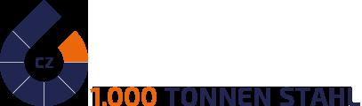 1.000 Tonnen Stahl