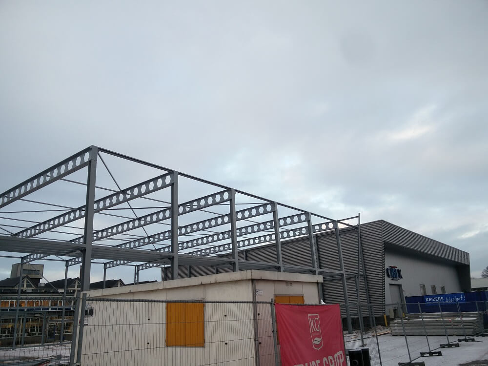 Building new production hall mould construction CIREX almost finished