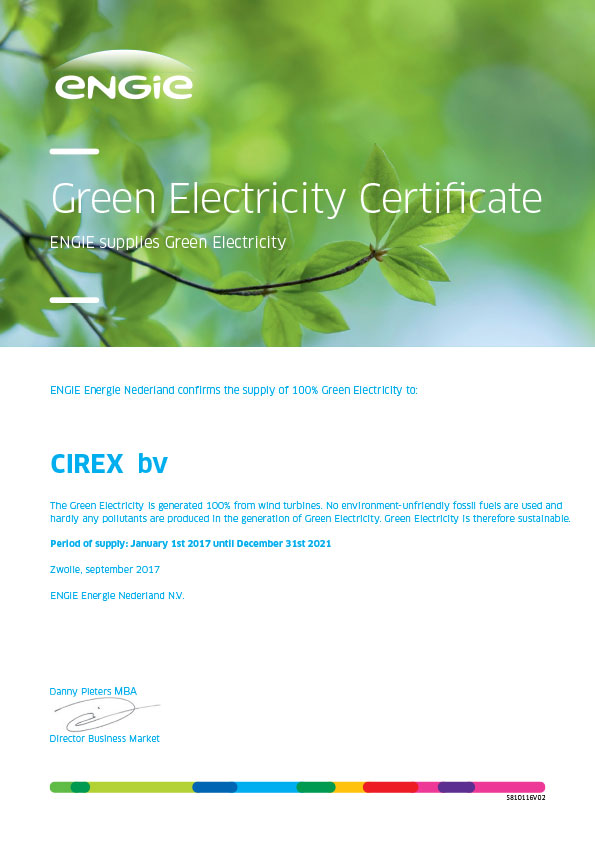 CIREX Green Electricity Certificate